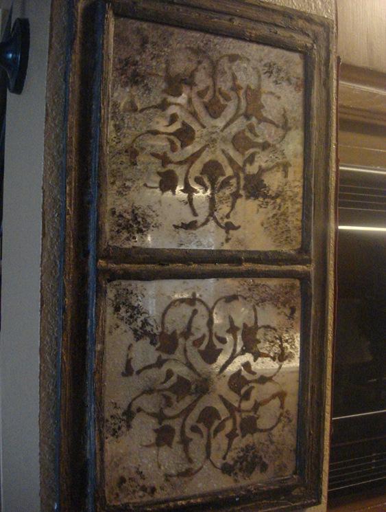 Antiqued Smokey Moroccan Mirrors